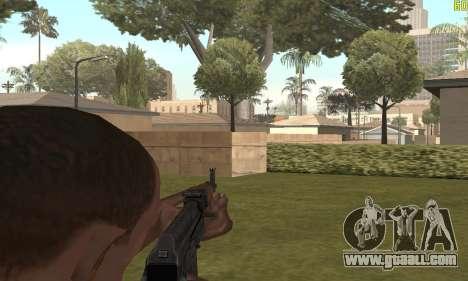 Akms for GTA San Andreas fifth screenshot