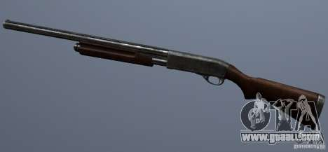 Remington 870AE Silver for GTA San Andreas third screenshot