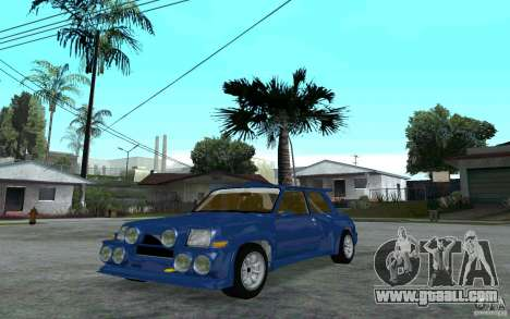 Renault 5 Maxi Turbo for GTA San Andreas