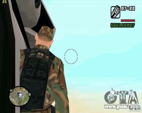 U.S.M.C. Desant for GTA San Andreas forth screenshot