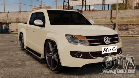 Volkswagen Amarok Light Tuning for GTA 4