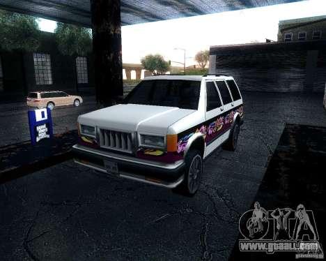 Landstalker for GTA San Andreas