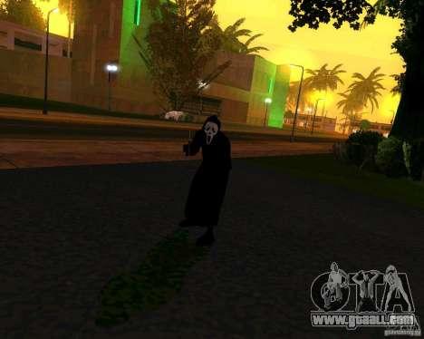 Scream (Scream) for GTA San Andreas second screenshot