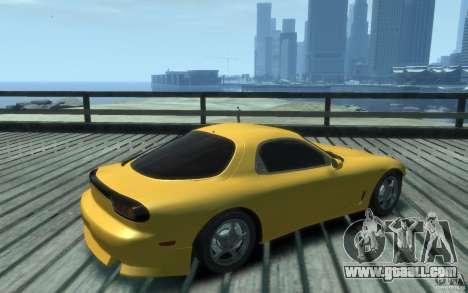 Mazda RX-7 v1 for GTA 4 right view