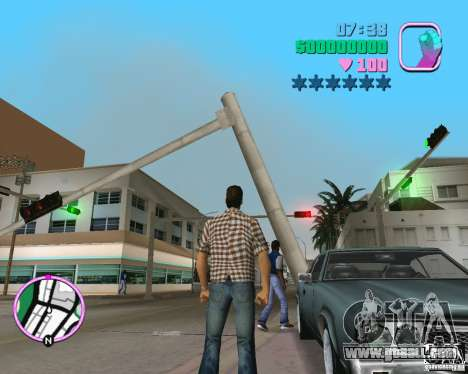 New Sabre for GTA Vice City right view