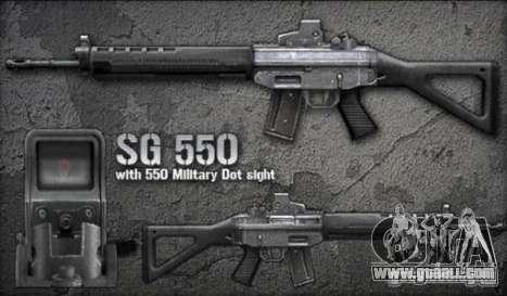 [Point Blank] SG550 for GTA San Andreas