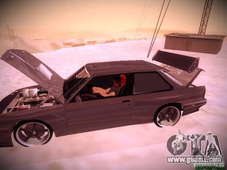 BMW M3 Drift for GTA San Andreas side view