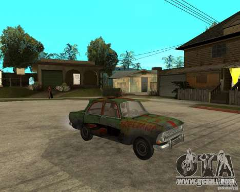 Moskvich 412 bloodring for GTA San Andreas right view