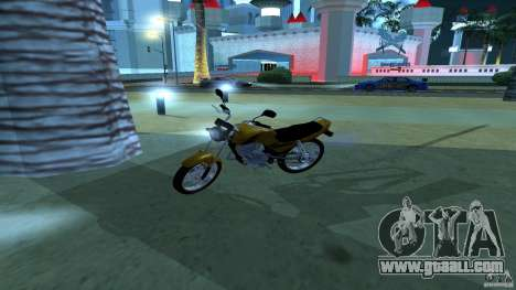 Yamaha YBR 125 for GTA San Andreas