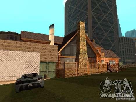 Villa in San Fierro for GTA San Andreas forth screenshot