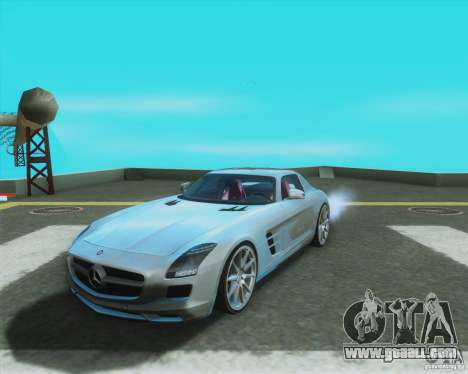 Mercedes-Benz SLS AMG 2010 v.1.0 for GTA San Andreas