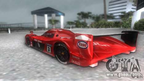 Toyota GT-One TS020 for GTA Vice City back left view