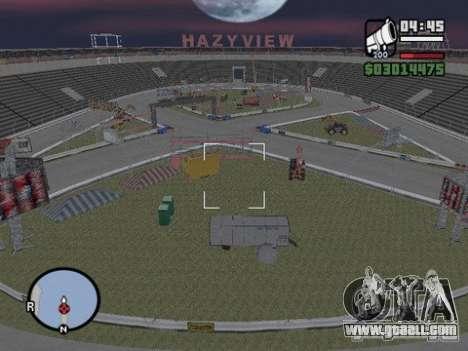 Hazyview for GTA San Andreas second screenshot