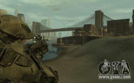 Halo 4 Master Chief for GTA 4 third screenshot
