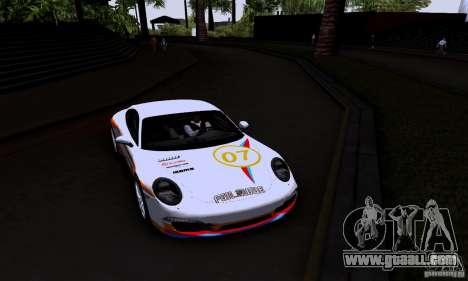 Porsche 911 Carrera S for GTA San Andreas side view