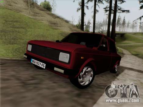 Zastava 128 for GTA San Andreas