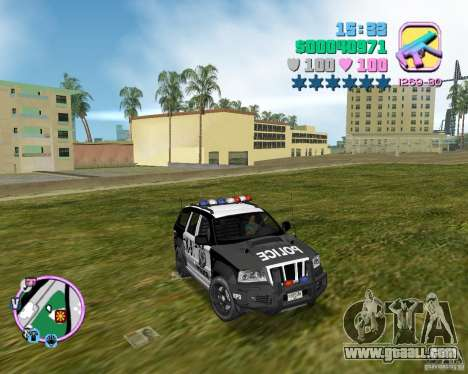 Jeep Grand Cheeroke COPSUV FROM NFS:MW for GTA Vice City