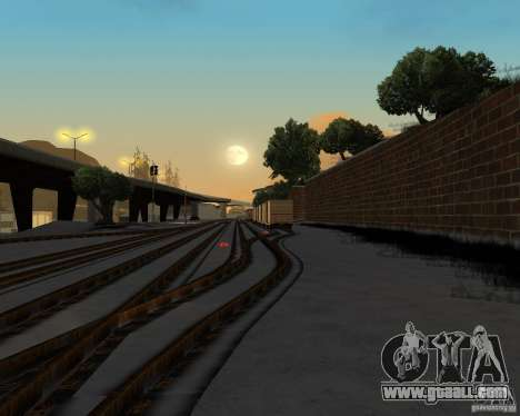 New railway station for GTA San Andreas forth screenshot