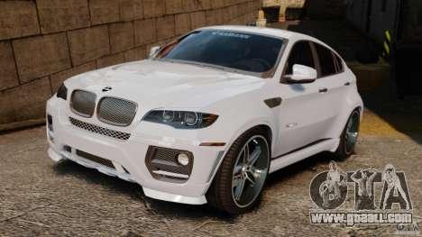 BMW X6 Hamann Evo22 no Carbon for GTA 4