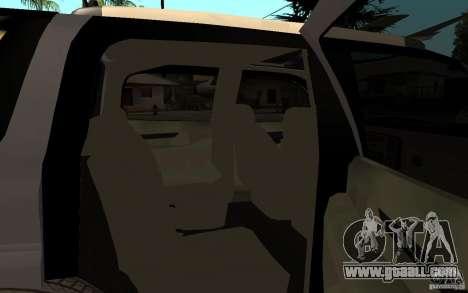 Cadillac Escalade pick up for GTA San Andreas right view