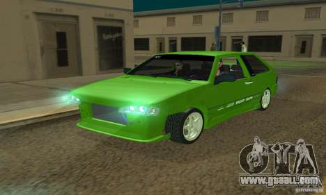 VAZ 2113 ADT Art Tuning for GTA San Andreas upper view