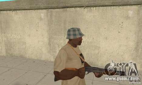 M870 for GTA San Andreas second screenshot