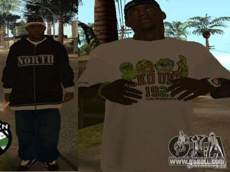 New Grove Street for GTA San Andreas second screenshot
