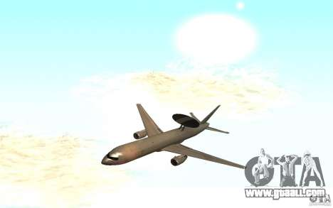 Boeing E-767 for GTA San Andreas
