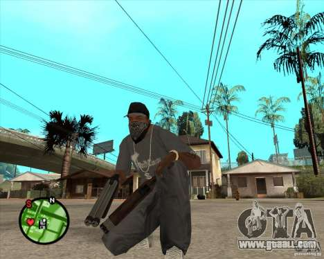 New spare for GTA San Andreas second screenshot