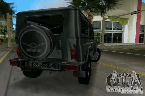 UAZ-3153 for GTA Vice City left view