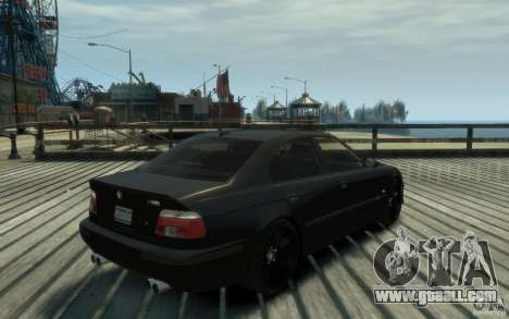 BMW M5 E39 for GTA 4 right view