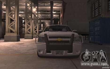 Chevrolet Avalanche v1.0 for GTA 4 inner view