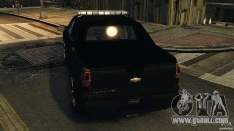 Chevrolet Avalanche 2007 [ELS] for GTA 4