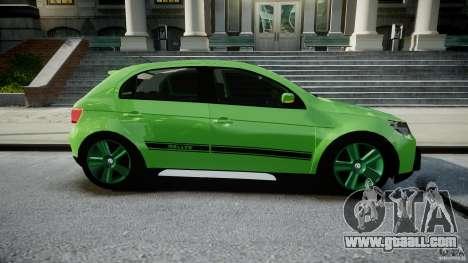 Volkswagen Gol Rallye 2012 v2.0 for GTA 4 inner view