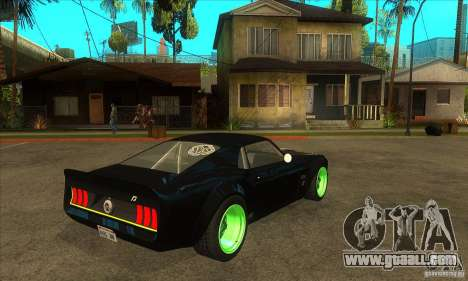 Ford Mustang RTR-X 1969 for GTA San Andreas inner view