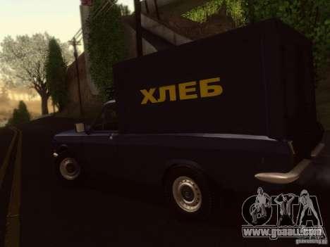 GAZ 24-12 bread van for GTA San Andreas left view