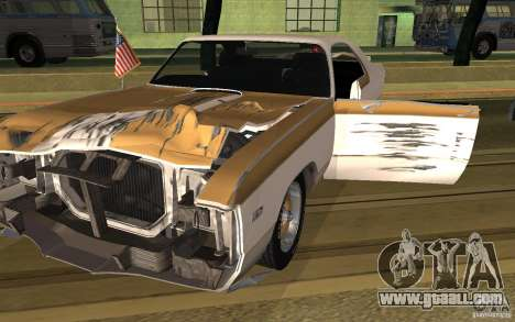 Chrysler 300 Hurst 1970 for GTA San Andreas back left view