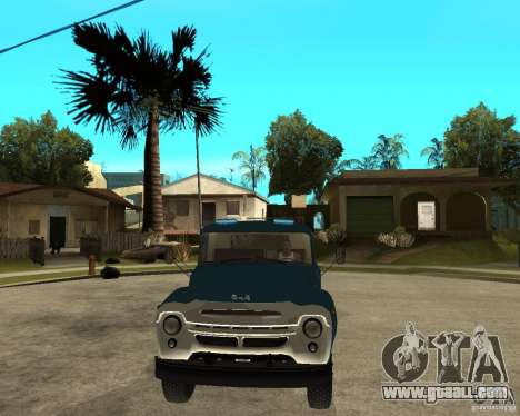 ZIL 130B1 for GTA San Andreas back view