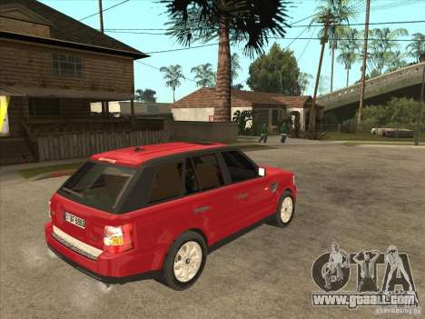 Range Rover Sport 2007 for GTA San Andreas right view