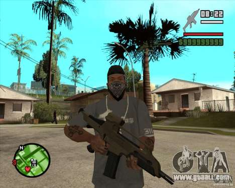 End Of Days: XM8 (HD) for GTA San Andreas