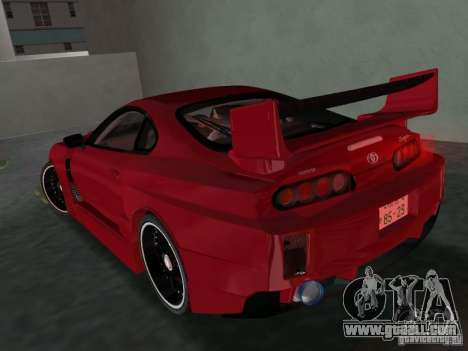 Toyota Supra Chargespeed for GTA Vice City right view