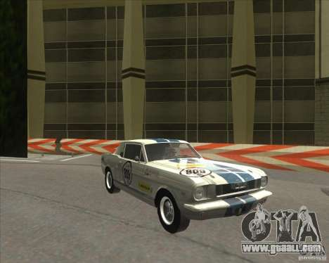 Ford Mustang 1965 for GTA San Andreas left view