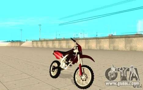 GTAIV Sanchez for GTA San Andreas