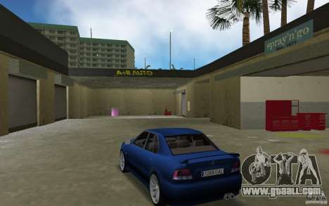 Mitsubishi Galant for GTA Vice City back left view