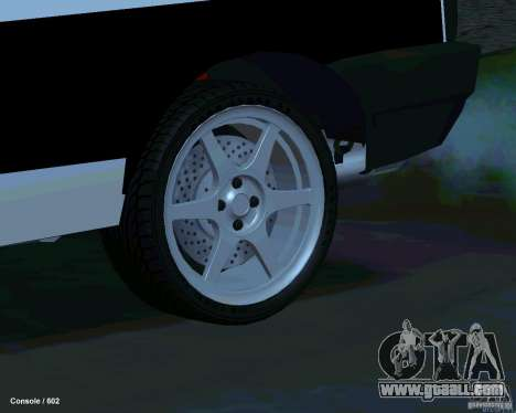 VAZ 2108 Drag for GTA San Andreas bottom view