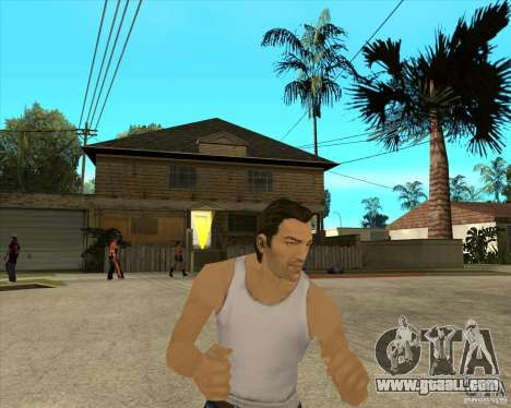 Skin Tommy Vercetti v1 FINAL for GTA San Andreas third screenshot