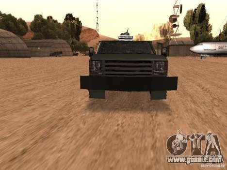 GMC SIERRA 3500 for GTA San Andreas side view