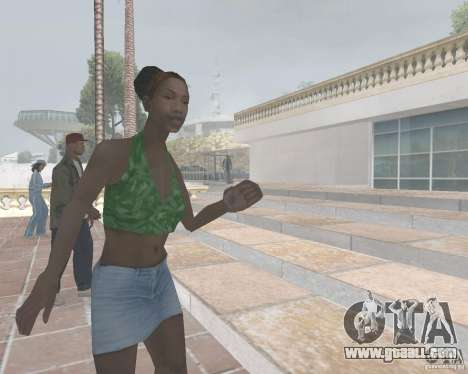 Madd Doggs party for GTA San Andreas forth screenshot