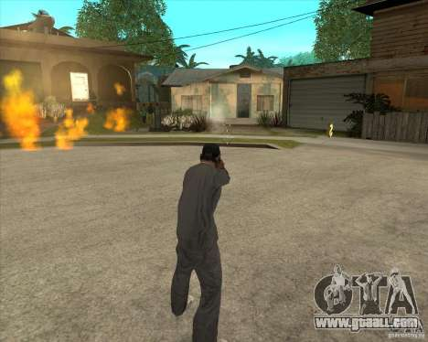 Gta IV weapon anims for GTA San Andreas forth screenshot
