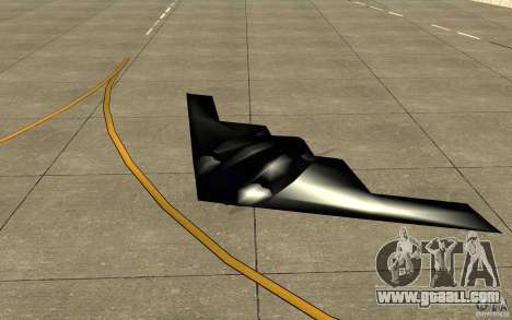 B2-Stealth for GTA San Andreas left view